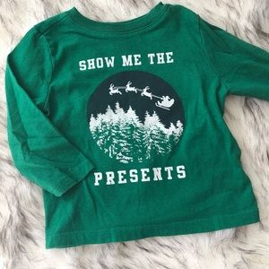Old Navy Christmas 🎄 baby boy shirt